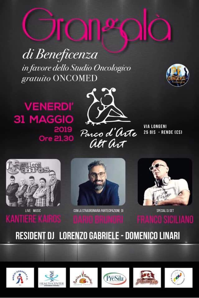Gran Gala Beneficenza Parco Alt Art Rende 2019