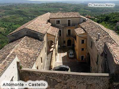 Altomonte - Castello